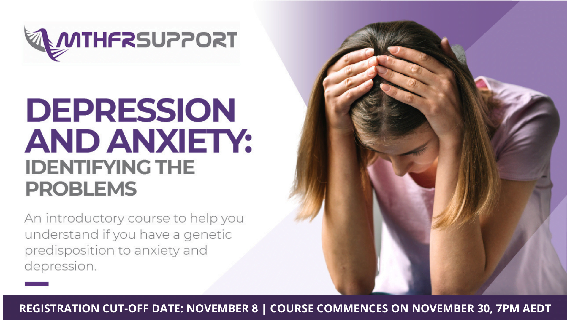 Depression and Anxiety Course 2020